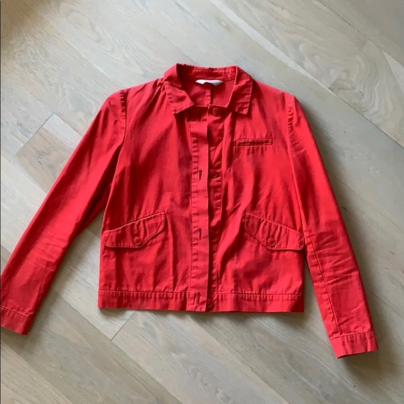 Miu Miu Jackets & Blazers - Red Miu Miu jacket